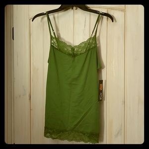 Apt 9 Kohls Camisole Top Lace Layering Sexy Color